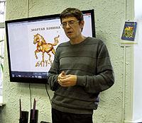 «Литературная гостиная» с Андреем Ангеловым